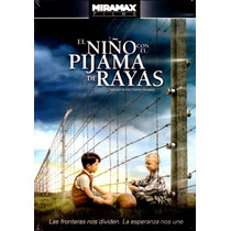 Dvd Niño Con El Pijama De Rayas (the Boy In The Striped Piya