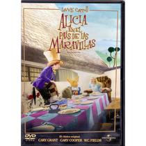 Alicia En El Pais De Las Maravillas Lewis Carrol , Dvd