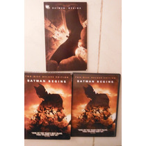 Batman Begins Box Set Import Dvd Usa Movie Christian Bale