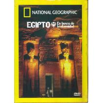 Egipto En Busca De La Eternidad. National Geographic En Dvd