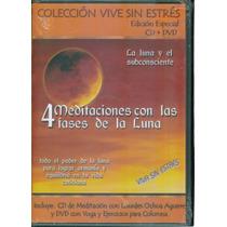 4 Meditaciones Con Las Fases De La Luna, Cd + Dvd