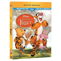 La Película De Tigger Bluray+dvd. Disney