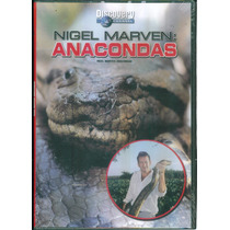 Anacondas Nigel Marven. Discovery Channel. Formato Dvd