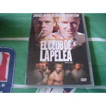 Pelicula En Dvd El Club De La Pelea