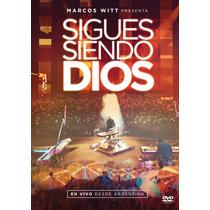 Sigues Siendo Dios En Vivo - Marcos Witt (dvd)