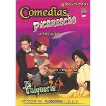 Dvd Mexicano Cine De Ficheras La Pulqueria 1 2 3 Y 4 Tampico