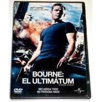 Bourne: El Ultimatum Matt Damon Dvd Seminuevo Envio Gratis