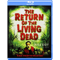 The Return Of The Living Dead Zombies Importacion Blu-ray
