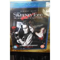 Sweeney Todd Blu Ray Import Movie Johnny Depp By Tim Burton