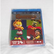 Garfield Y La Fuerza De Las Mascotas! Combo Bluray + Dvd !!