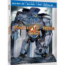 Titanes Del Pacifico 3d Edicion Limitada Nueva Original Vv4