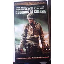Codigos De Guerra Nicolas Cage Pelicula Vhs Rara Año 2003