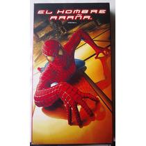 El Hombre Araña 1 Spider Man Pelicula Vhs Rara Año 2002 Bvf