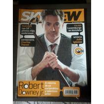 Robert Downey Jr. Revista Sky View