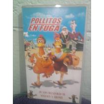 Vhs Pollitos En Fuga Anime Manga Walt Disney Dreamworks
