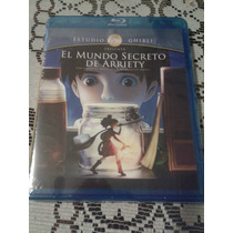 Mundo Secreto De Arriety Estudio Ghibli Bluray Original