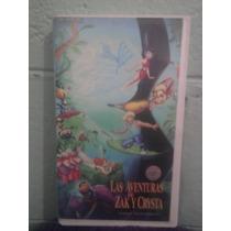 Vhs Zack Y Crista 1 Ferngully Manga Walt Disney Dreamworks