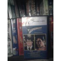 Vhs Superman 1 Dc Comics Ficción Marvel Subtitulos Español