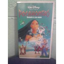 Vhs Película Pocahontas Anime Manga Caricaturas Walt Disney