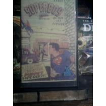 Vhs Superboy Caricaturas Vintage 80s Anime Dc Comics