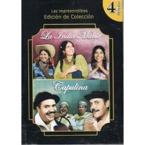 India Maria / Capulina , Set De Peliculas Mexicanas En Dvd