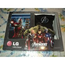 Blu-ray Iron Man 2 Kit De Entretenimiento 3d 2 Discos