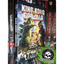 Dvd King Kong Vs Godzilla Kaiju Gojira Ultraman Esp Terror