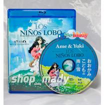 Ame & Yuki: Los Niños Lobo Blu-ray En Español Latino Reg A