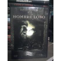 Dvd El Hombre Lobo Universal Monsters Licantropos Lon Chaney