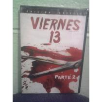 Dvd Viernes 13 Parte 2 Re-edición Jason Terror Gore Zombies