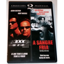 Pack Dvd 3000 Millas Al Infierno (2001) A Sangre Fria (2000)