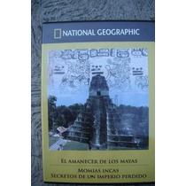 Dvd El Amanecer De Los Mayas Y Momias Incas Nat Geo