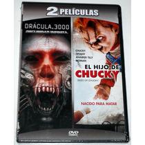 Pack Dvd: Dracula 3000 (2004) Y El Hijo De Chucky (2004)
