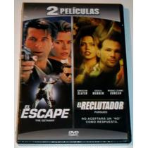 Pack Dvd: El Escape (1994) El Reclutador (2004)