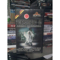 Vhs Original Juegos Diabólicos 3 Poltergeist Terror Chucky