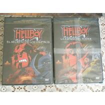 Dvds Hellboy: La Espada Del Poder/el Secreto De Los Vampiros