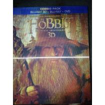 Bluray 3d Hobbit Un Viaje Inesperado + Bluray+dvd