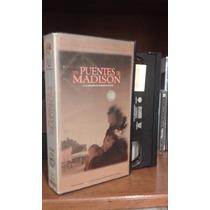Vhs Los Puentes De Madison. Subtitulado.de Colección.