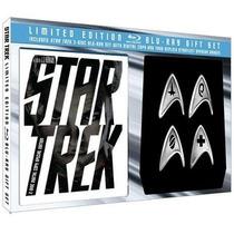 Star Trek Blu-ray De Colección Con Placas Starfleet Division