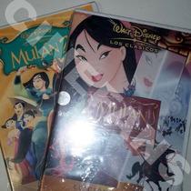 :: Mulan 1 Y 2 :: Disney Paquete 3 Dvd´s + Regalo Cd