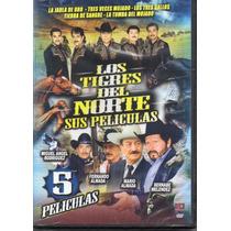 Coleccion Los Tigres Del Norte Sus Peliculas 5 Peliculas Dvd