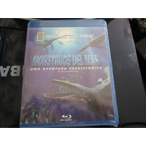 National Geographic Monstruos Del Mar Blu Ray