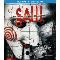Saw: The Complete Movie Collection En Blu Ray Nuevo