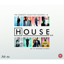 House Coleccion , La Coleccion Completa De Peliculas Blu-ray