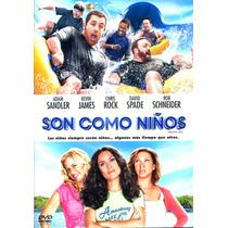 Dvd Son Como Niños ( Grown Ups ) 2010 - Dennis Dugan