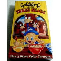 Goldilocks And The Three Bears Vhs Hecha En U.s.a. 1996 Bvf