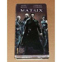 The Matrix Vhs Matrix Ciencia Ficción Acción Película En Vhs