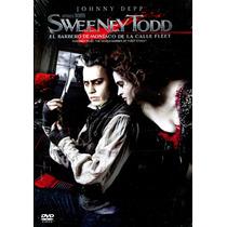 Dvd Sweeney Todd El Barbero Demoniaco De La Calle Fleet 2007