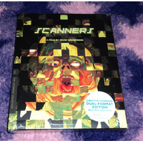 Scanners - Bluray + Dvd Criterion Limited Digipack Edition