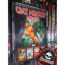 Boxset Digipack Cult Mounster Movies 4 Dvd Horror Corman Esp